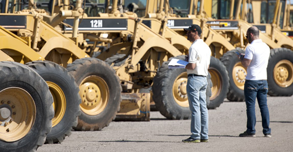 Picking out the right CAT from a large line-up of equipment