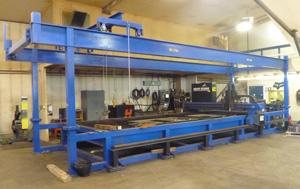 Pinnacle Ind'l Automation Hypertherm Shapewizard CNC Plasma Table